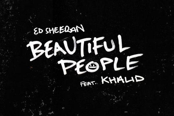 Ed Sheeran y Khalid serán #1 en UK con 'Beautiful People'
