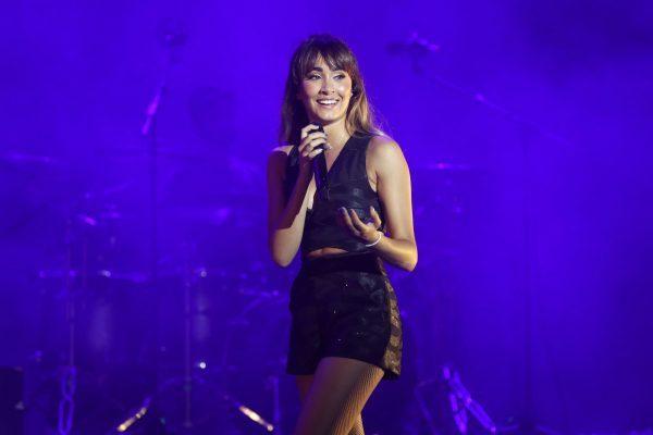Aitana actúa hoy por segunda vez en Madrid, en el Palacio Vistalegre, y de nuevo con todo el papel vendido