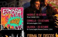 Estopa anuncian firmas de discos para 'Fuego', su nuevo disco que se publicará el 18 de octubre