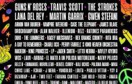 Guns N' Roses, Travis Scott, The Strokes, Lana Del Rey, Martin Garrix, Gwen Stefani y Amaia, en el cartel del Lollapalooza Argentina