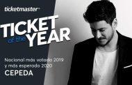 Cepeda y Metallica, mejores eventos de 2019 según los fans de Ticketmaster, en la encuesta 'Ticket of the Year'