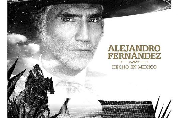 Alejandro Fernández consigue el #1 en España en venta pura, con 'Hecho en México'