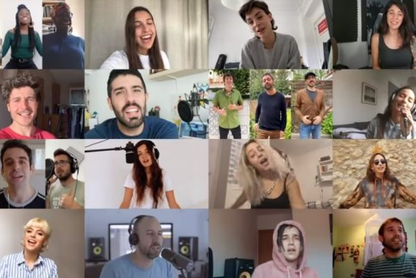 Miki Núñez estrena una nueva versión de 'Escriurem', en esta ocasión benéfica para la campaña #YoMeCorono