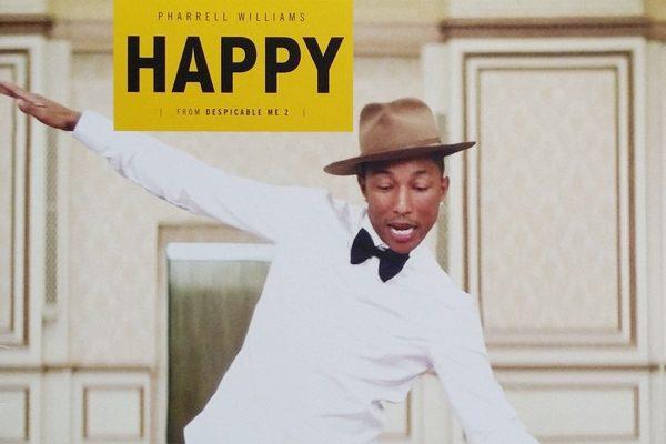 'Happy' de Pharrell Williams, canción más pinchada en UK entre 2010 y 2019