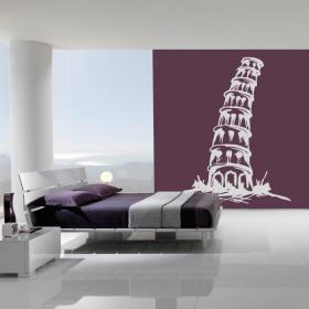 Vinilo Decorativo Torre de Pisa I