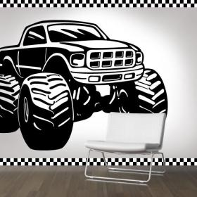 Decoración Paredes Monster Truck