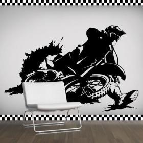 Vinilo Decorativo Motocross