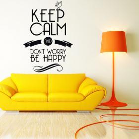 Vinilos Decorativos Adhesivos y Pegatinas Keep Calm