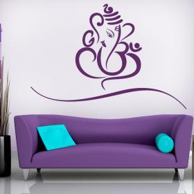 Vinilo Decorativo Ganesha