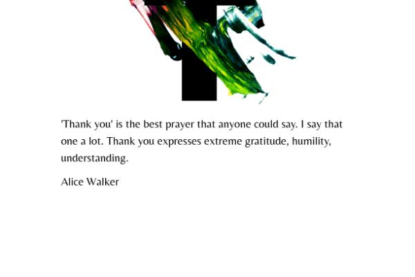 Gratitude Joy!