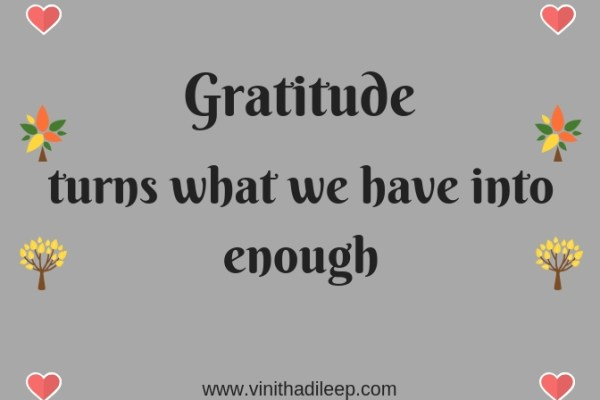 Today I am Grateful for… #WorldGratitudeDay #FridayReflections