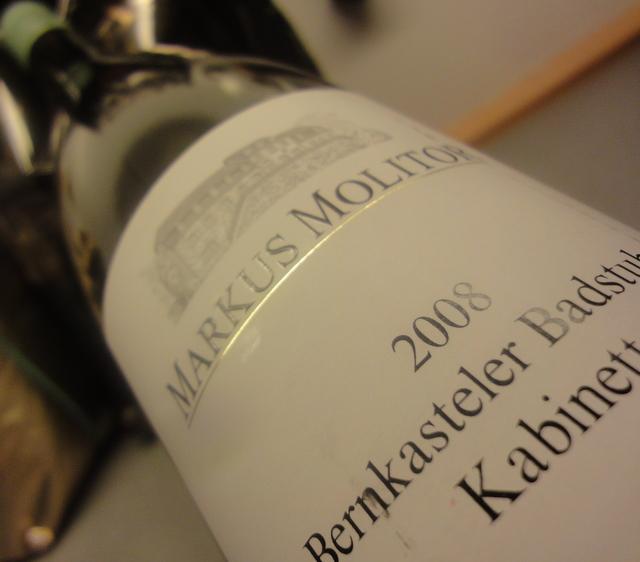2007 Markus Molitor, Bernkasteler  Badstube, Kabinett, Riesling, Mosel
