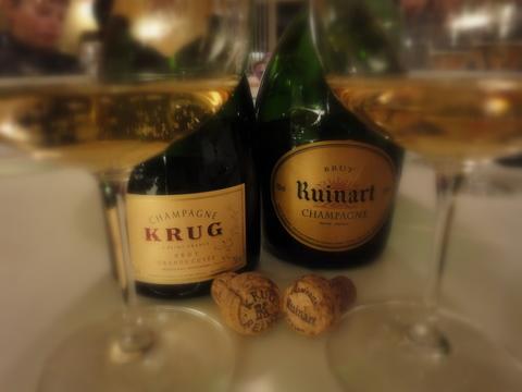 Champagne i bourgogne glas