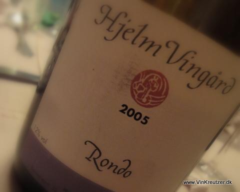 2005 Hjelm Vingård, Rondo, Stege
