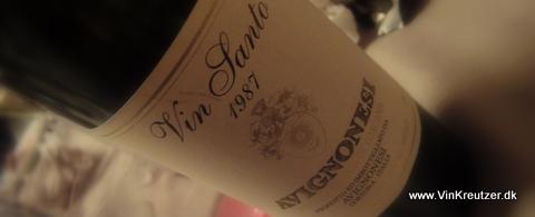 1987 Avignonesi, Vin Santo, Vino da Tavola di Toscana