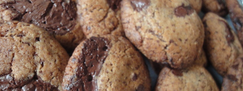 Chokolate chip cookies opskrift