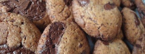 Chokolate chip cookies opskrift