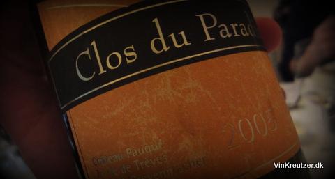 2005 Château Pauque, Clos du Paradis, Luxembourg
