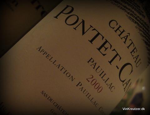 2000 Château Pontet Canet, Pauillac