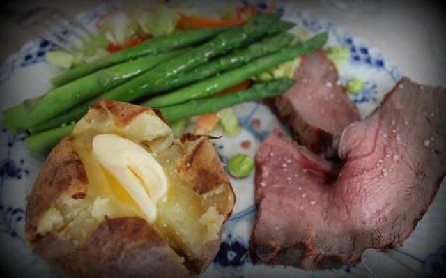 kød og kartofler