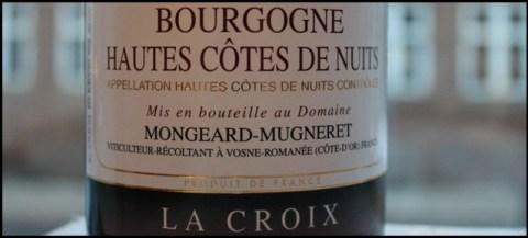 2010 Mongeard-Mugneret, La Croix, Hautes Cotes de Nuits