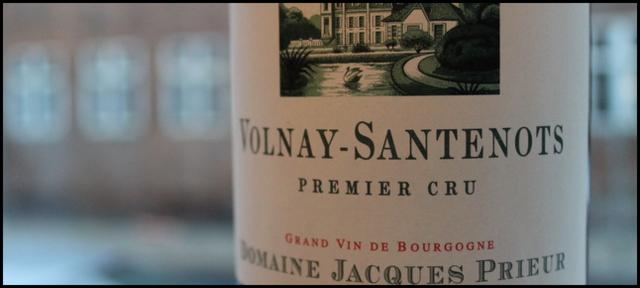 2010 Jacques Prieur, Santenots 1'er Cru, Volnay