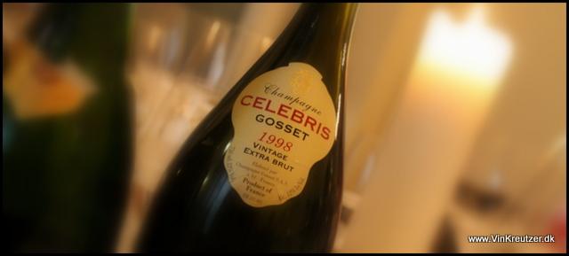 1998 Gosset, Celebris, Extra Brut, Champagne
