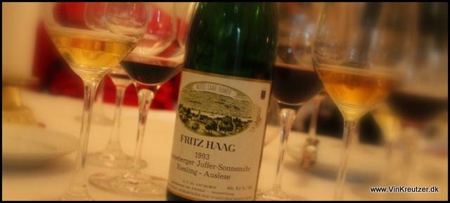 1993 Fritz Haag, Brauneberger Juffer Sonnenuhr, Riesling, Auslese, Mosel