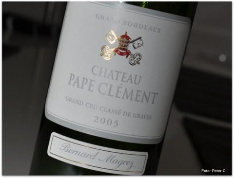 2005 Chateau Pape Clement, rouge, Pessac Leognan