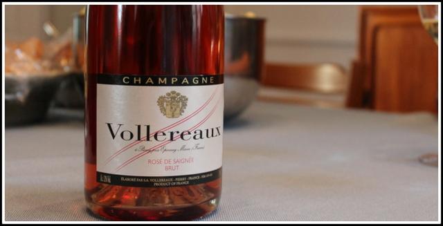 NV Vollereaux, Brut rosé de Saignée, Champagne
