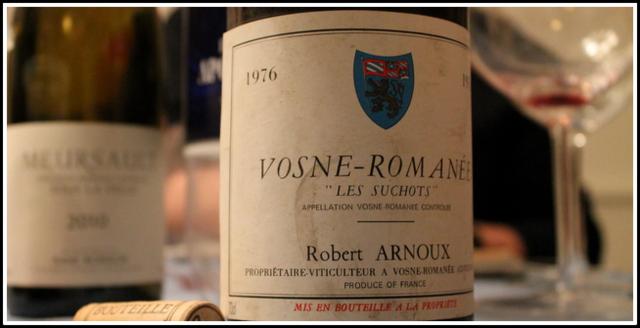 1976 Robert Arnoux, Les Suchots, Vosne-Romanée