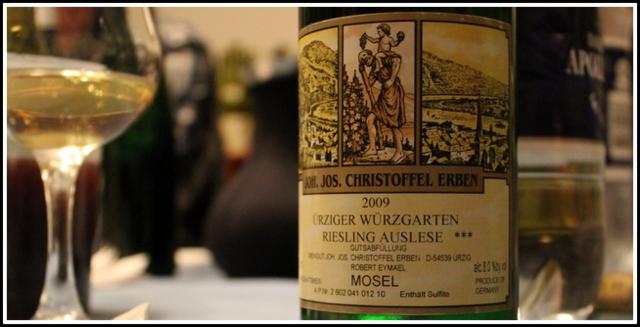 2009 Joh Jos Christoffel Erben, Ürziger Würzgarten, Riesling, Auslese ***, Mosel,