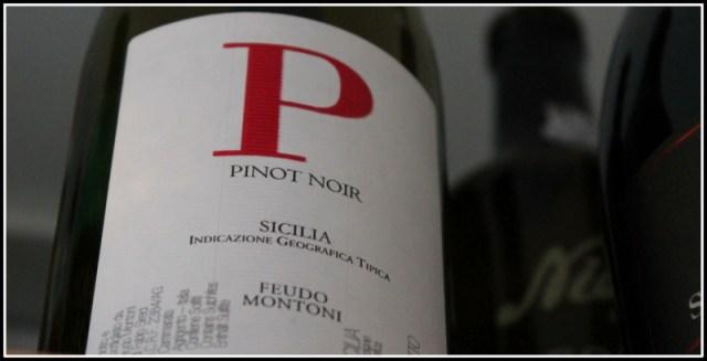 "2012 ""P"" Pinot Nero, Feudo Montoni, Sicilia"