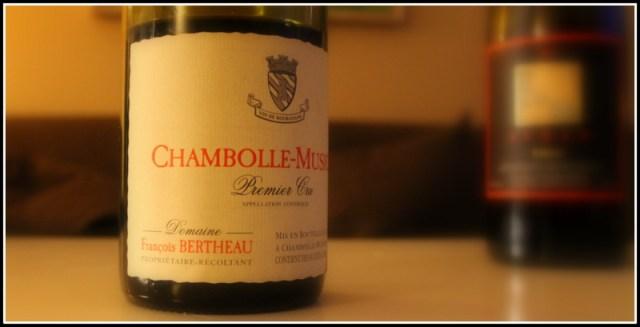 Chambolle Musigny Bertheau
