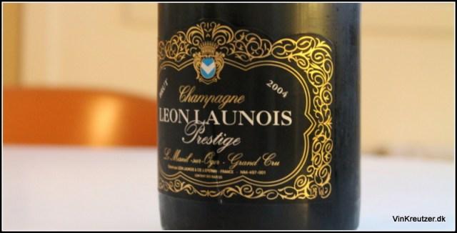 2004 Leon Launois, Brut Prestige, Mesnil-sur-Oger, Grand Cru, Champagne