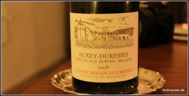 2008 Clos du Moulin au Moines, Monopole, Auxey-Duresses, Bourgogne