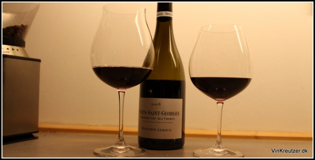 Riedel wine glass Leroux Nuits