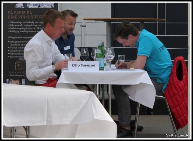 Koncentration ved finalebordet