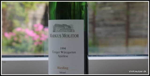 Spatlese mosel riesling 1994
