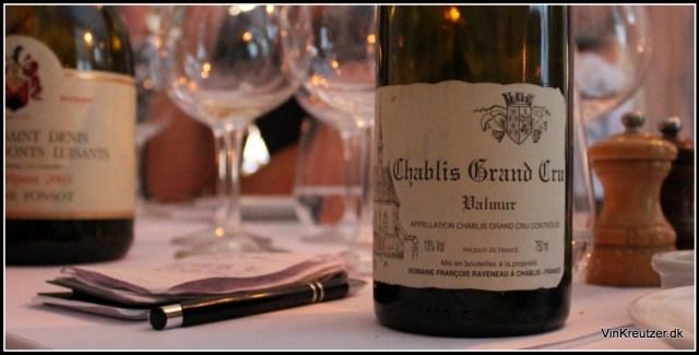 Valmur Chablis Grand Cru Raveneau