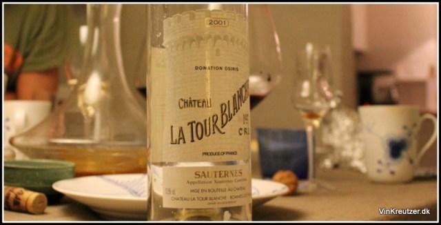 2001 Sauternes La Tour Blanche
