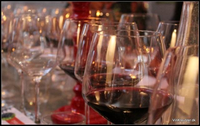 Blanding af rødvin