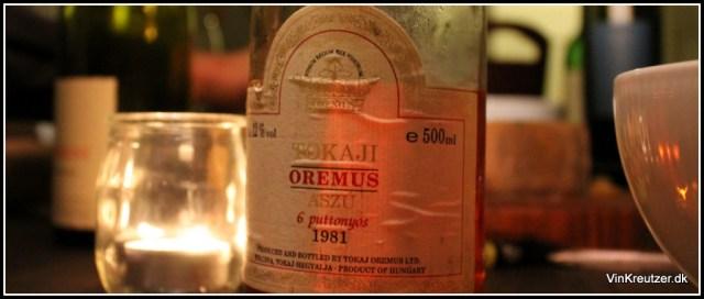 1981 Tokaji Oremus 6 Putt