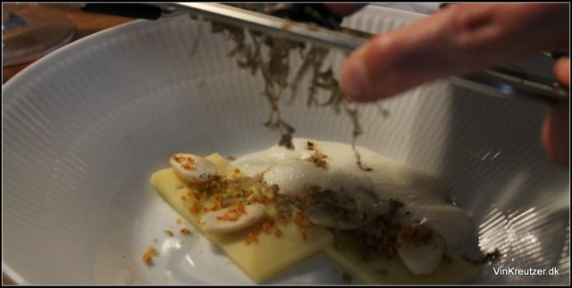 Voce trøffel på ost