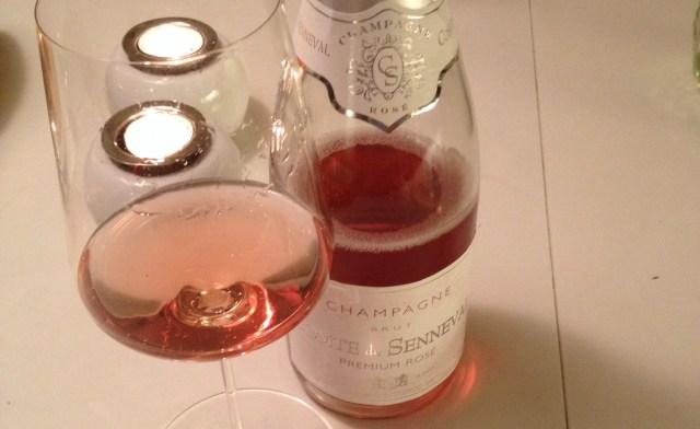 Champagne rose Lidl