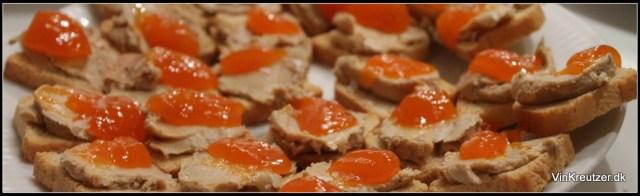 Foie gras med havtorn marmelade