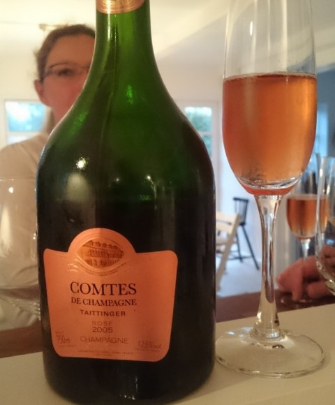 Comtes de Champagne rose