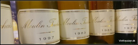 Moulin Touchais var en stor oplevelse