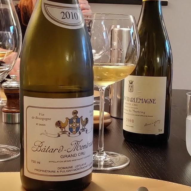 Batard Montrachet grand cru Domaine Lefalive