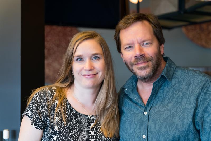 Catherine Tremblay et Éric Bernard de Chez Lavigne